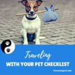 Traveling with your pet checklist